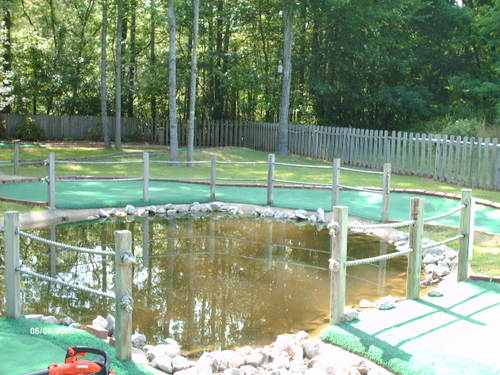 Red Course Hole #6 Pond